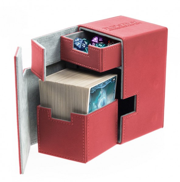 Flip'n'Tray Deck Case 100+ Xenoskin - Red