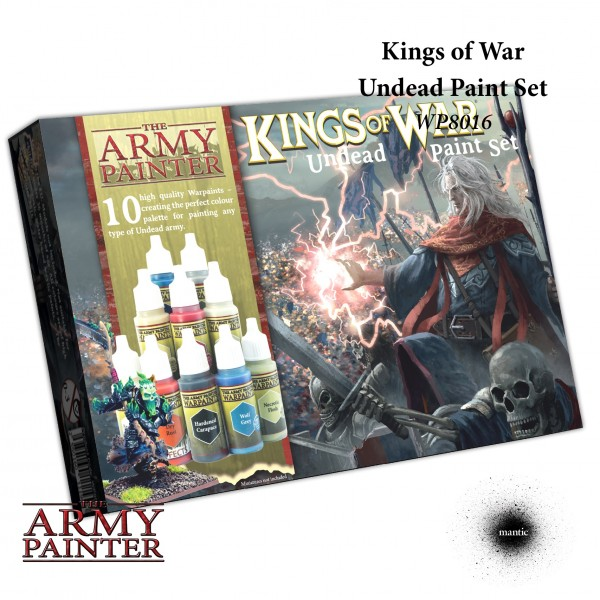Army Painter - Warpaints Kings of War Undead