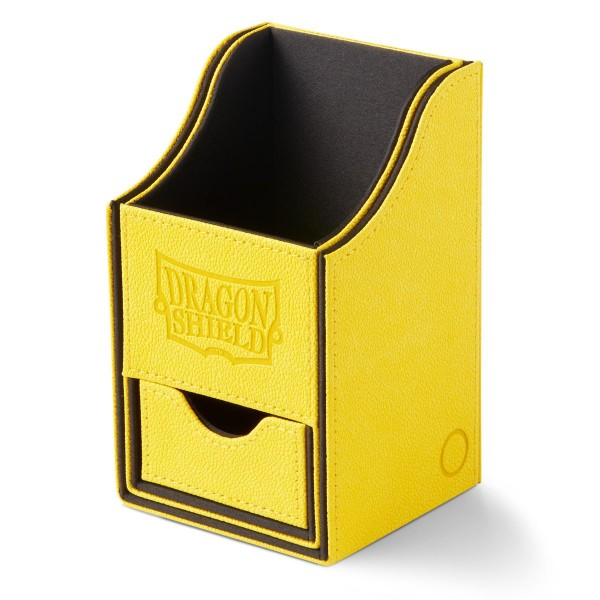 Dragon Shield: Nest Box + Dice Tray – Yellow/Black