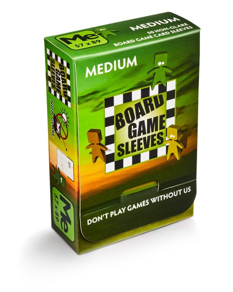 Bloard Game Sleeves: Medium – Non Glare (50)