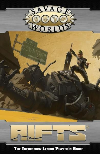 Rifts: The Tomorrow Legion Player's Guide (Revised)