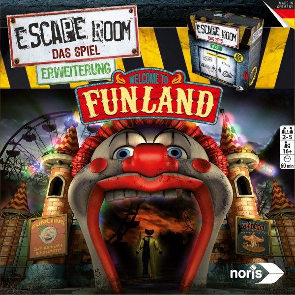 Escape Room: Welcome to Funland [Erweiterung]