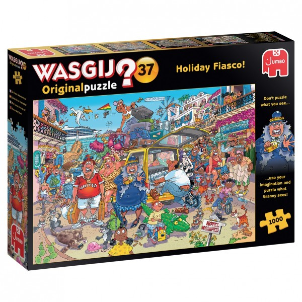 Wasgij Original 37: Holiday Fiasco (1000 Teile)