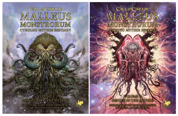 Cthulhu: Malleus Monstrorum Vol. I+II (Slipcase)