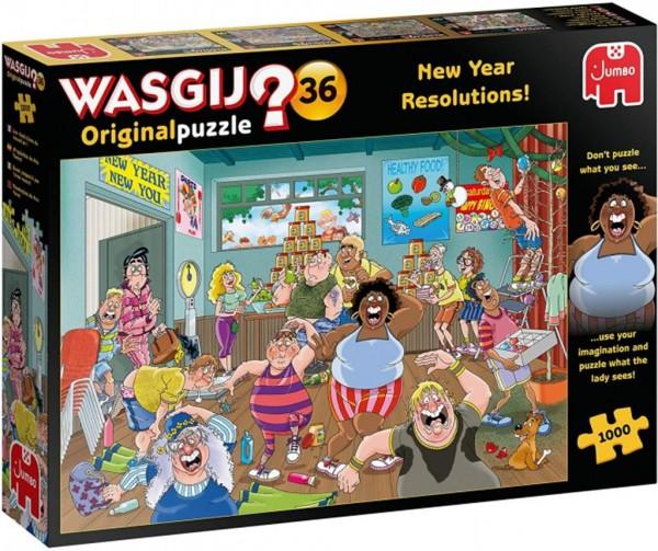 Wasgij Original 36: Gute Vorsätze fürs neue Jahr (1000 Teile)
