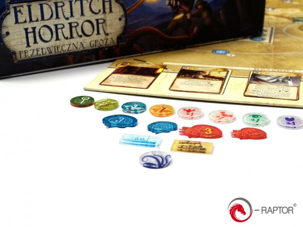 Token and Markers: Eldritch Horror Complete Tokens Set (184 Stück)