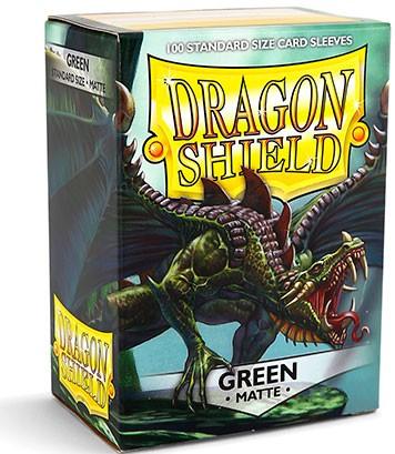 Dragon Shield: Matte – Green (100)