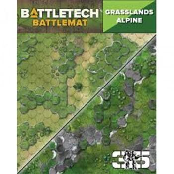 BattleTech: Battle Mat Grasslands/Alpine