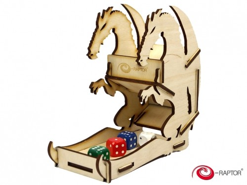 Dice Towers Small: Dragon (Wooden)