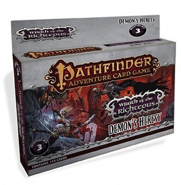 Pathfinder Adventure Card Game: Wrath of the Righteous Demon's Heresy