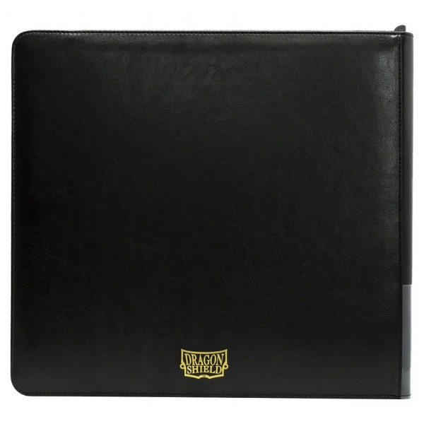 Dragon Shield: Card Codex Zipster Binder – XL Black
