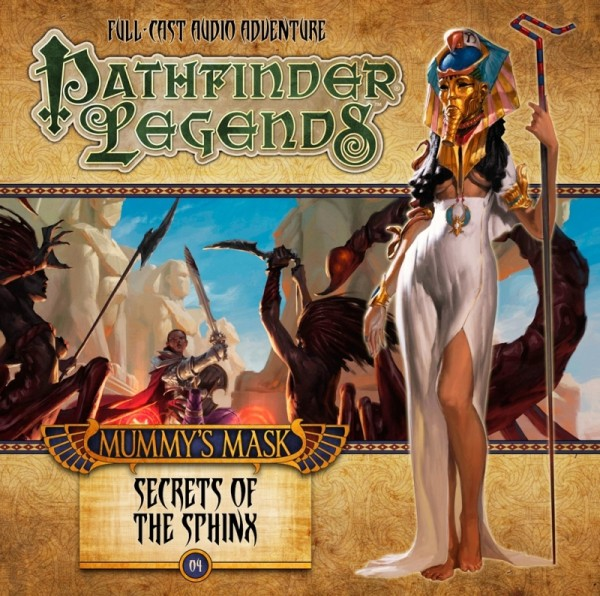 Pathfinder Legends: Secrets of the Sphinx (Audio-CD)