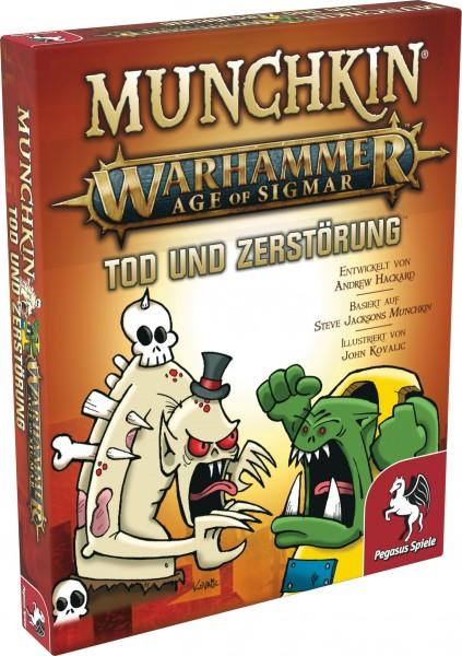Munchkin Warhammer Age of Sigmar: Tod und Zerstörung [Erweiterung]