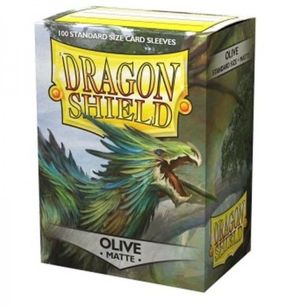 Dragon Shield: Matte – Olive (100)