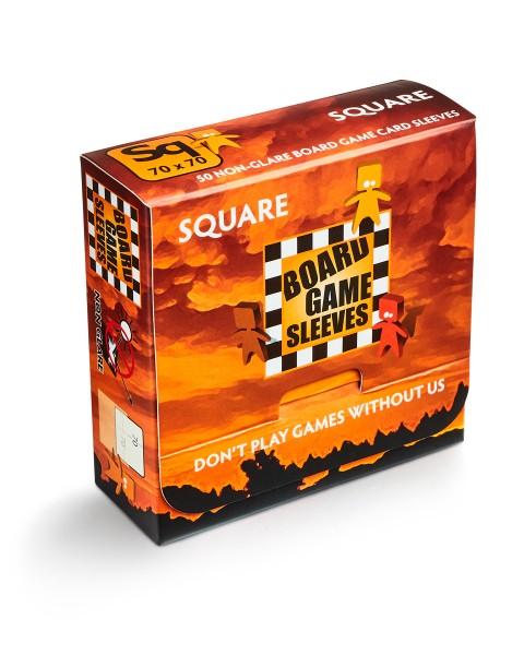 Board Game Sleeves: Square – non glare (50)