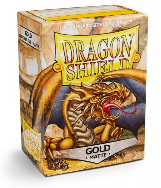 Dragon Shield: Matte – Gold (100)