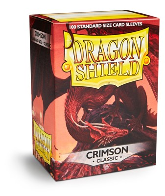 Dragon Shield: Crimson (100)