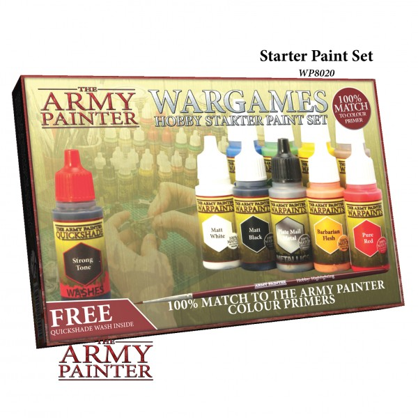 Army Painter - Starter Paint Set 2019