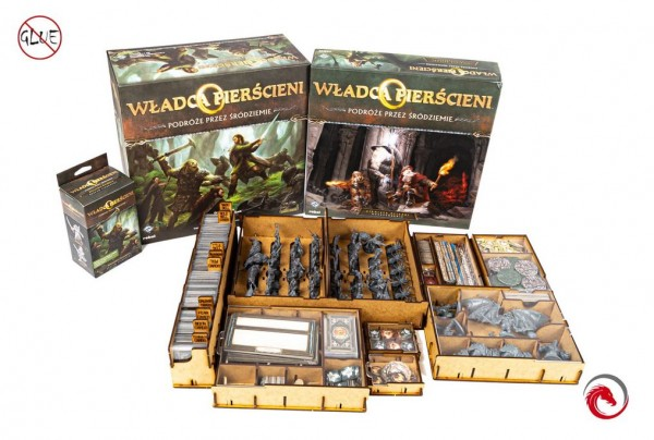 Insert: The Lord of the Rings: Journeys in Middle-earth + expansions