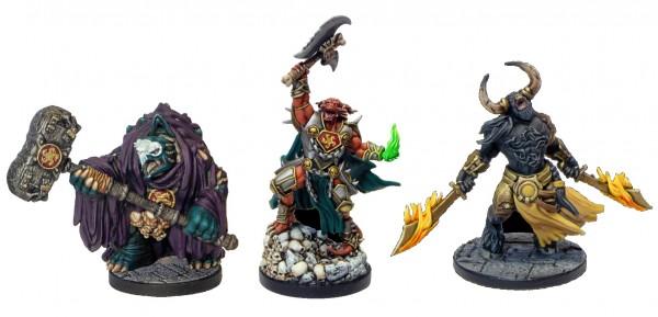 D&D: Descent into Avernus - Arkhan, Torogar & Krull (3 Figuren)