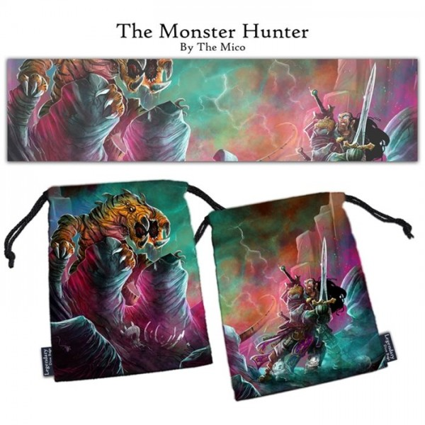 Legendary Dice Bag: The Monster Hunter