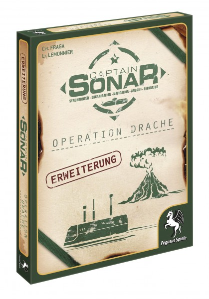 Captain Sonar: Operation Drache [2. Erweiterung]