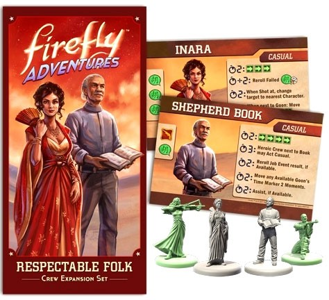 FIREFLY Adventures: Brigands & Browncoats - Respectable Folk Expansion