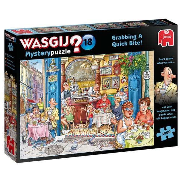 Wasgij Mystery 18: Greifen Sie zu! (1000 Teile)