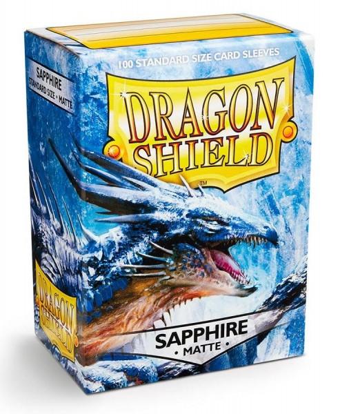 Dragon Shield: Matte – Sapphire (100)