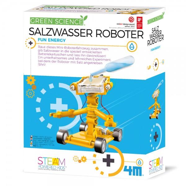 Green Science: Salzwasser Roboter