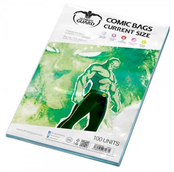 Ultimate Guard: Comic Bags Current Size (100)