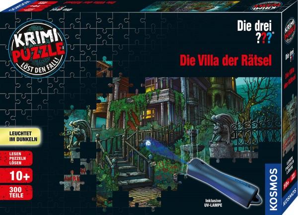 Krimipuzzle: ??? – Die Villa der Rätsel (300 Teile)