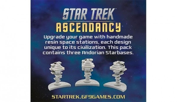Star Trek Ascendancy: Space Stations (x3) - Andorians