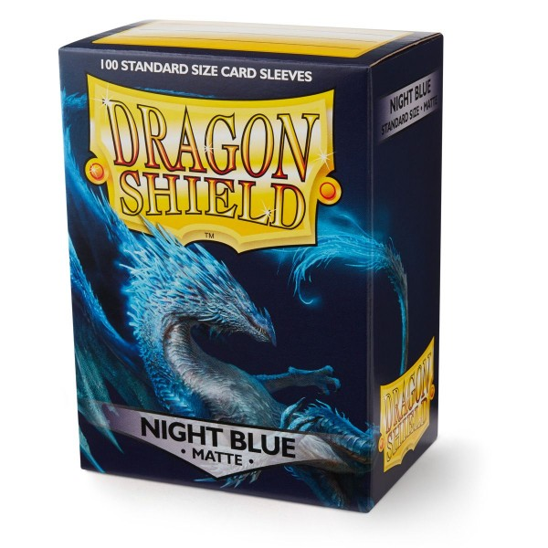 Dragon Shield: Matte – Night Blue (100)