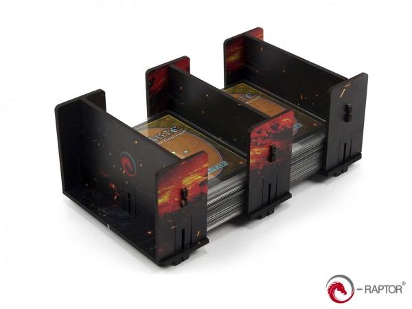 Board Game Card Holders: Card Holder - 2L FullPrint HDF Lava