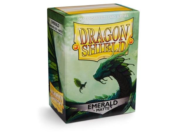 Dragon Shield: Matte – Emerald (100)