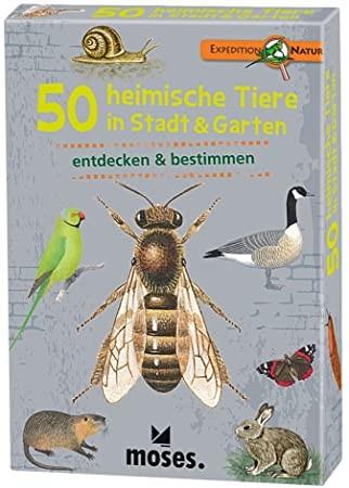 Expedition Natur – 50 heimische Tiere in Stadt und Garten