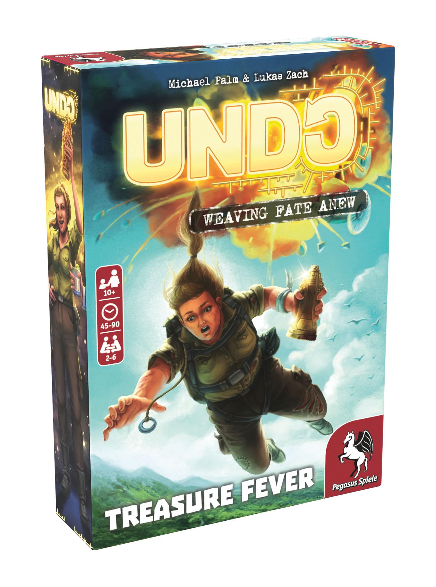 Undo: Treasure Fever -  Pegasus Spiele