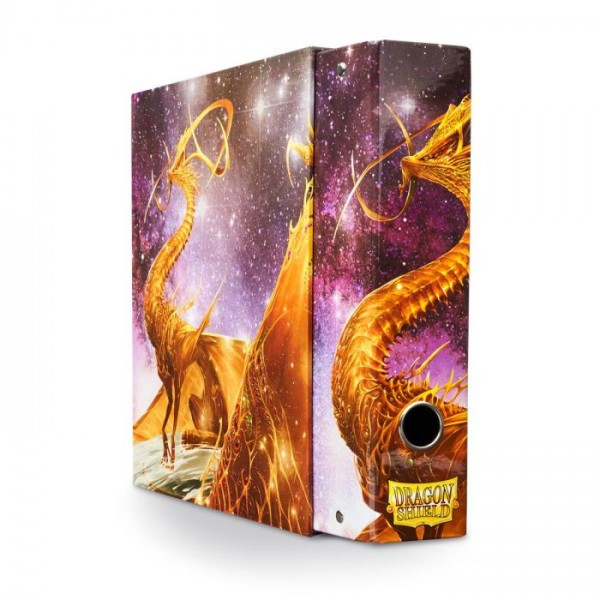 "Dragon Shield: Slipcase Binder – Gold – Dragon ""Glist"""