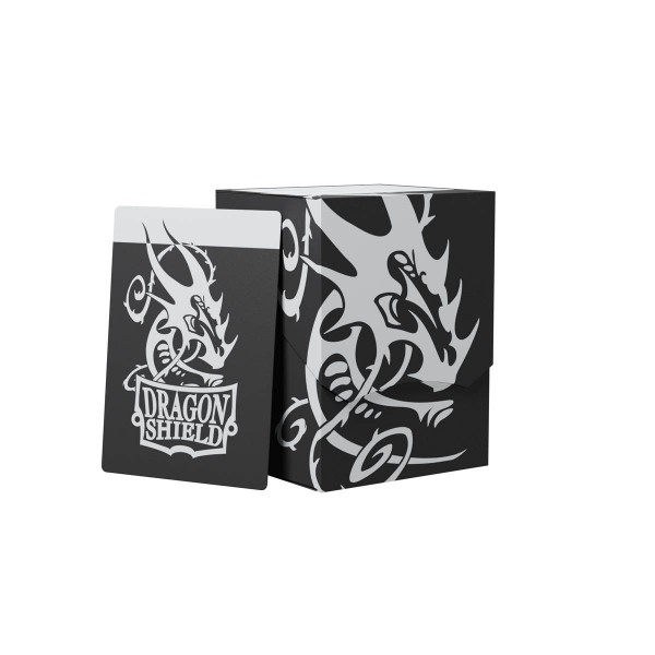 Dragon Shield: Deck Shell 100+: Black/Black