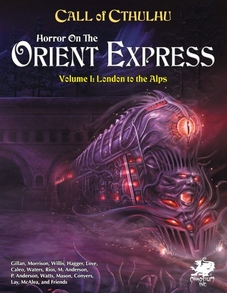 Cthulhu: Horror on the Orient Express