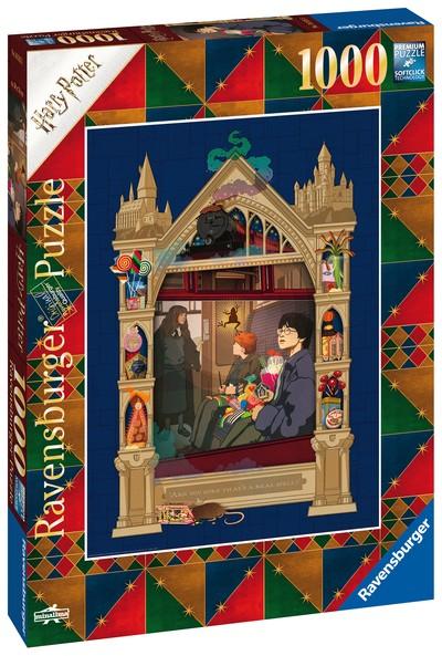 Puzzle: Harry Potter auf dem Weg nach Hogwarts (1000 Teile)