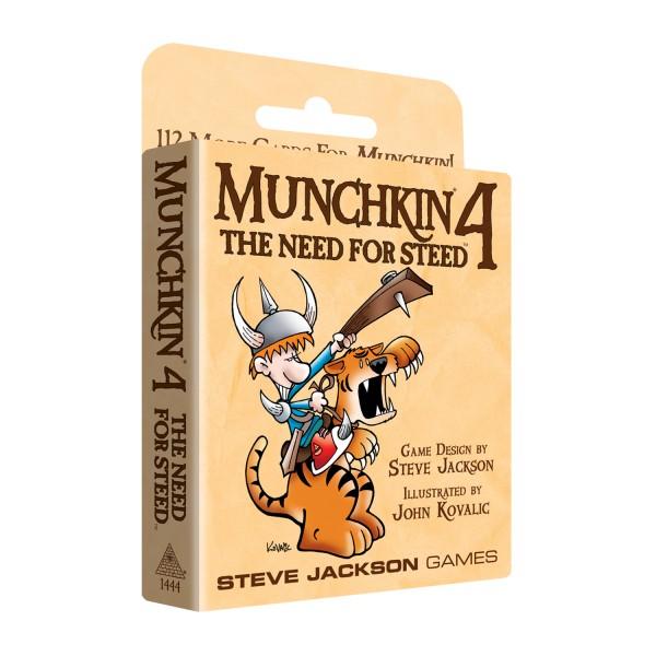 Munchkin 4: Need for Steed (englische Ausgabe)
