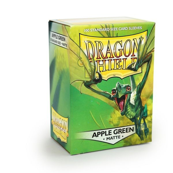 Dragon Shield: Matte – Applegreen (100)