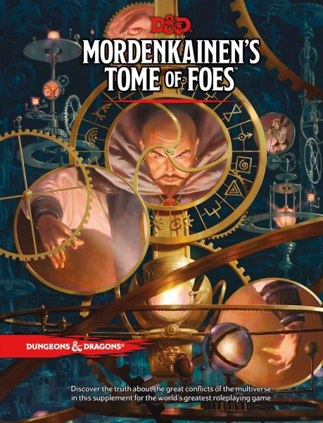 Dungeons & Dragons: RPG Mordenkainen's Tome of Foes (HC)