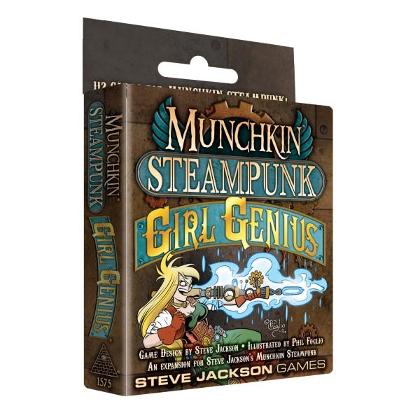 Munchkin Steampunk: Girl Genius