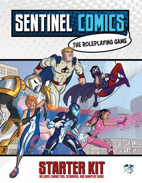 Sentinels Comics: The Roleplaying Game Starter Kit