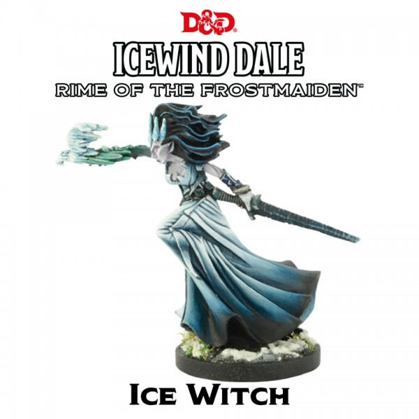 D&D: Icewind Dale - Rime of the Frostmaiden: Ice Witch (1 Figur)