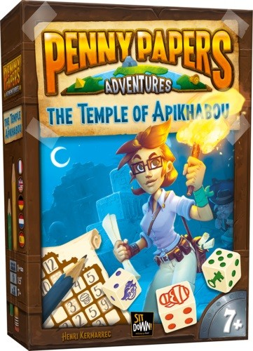 Penny Papers Adventures: The Temple of Apikhabou (multilingual)