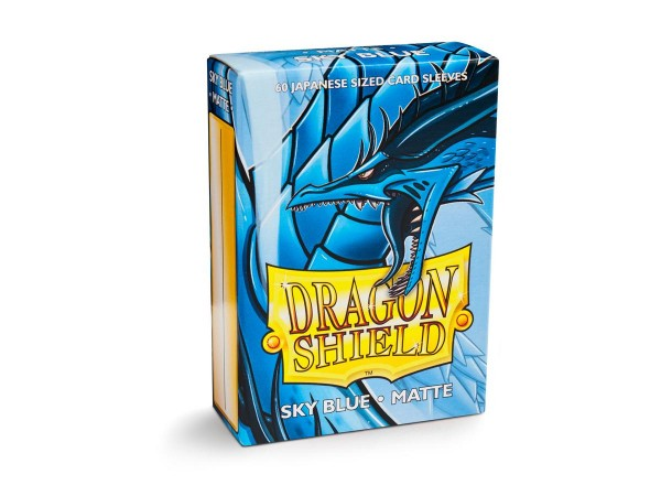 Dragon Shield: Japanese Matte – Sky Blue (60)